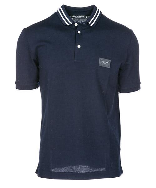 Polo t-shirt Dolce&Gabbana G8JD2TG7OPEB0665 blu