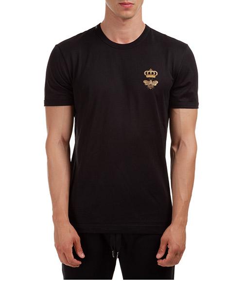 T-shirt Dolce&Gabbana G8JX7ZG7WUQN0000 nero