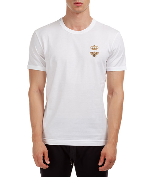 T-shirt Dolce&Gabbana G8JX7ZG7WUQW0800 bianco