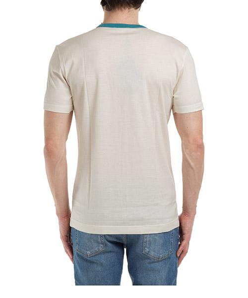 Men's short sleeve t-shirt crew neckline jumper pin-up secondary image