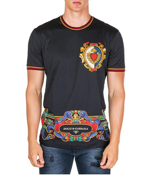 T-shirt Dolce&Gabbana g8kc0thh77jhn31a nero