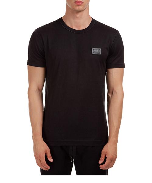 T-shirt Dolce&Gabbana G8KJ9TFU7EQN0000 nero