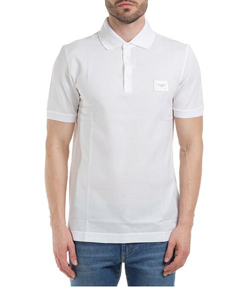 Polo shirts Dolce&Gabbana G8KK1TFU7ENW0800 bianco