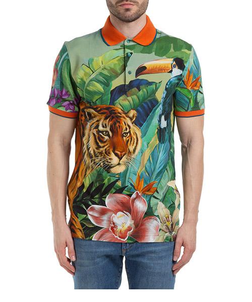 Polo shirts Dolce&Gabbana jungle G8LB0TFI7VBHH1QV verde
