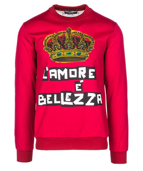 Фуфайка Dolce&Gabbana G9JV8TFH7Y8HRS16 rosso