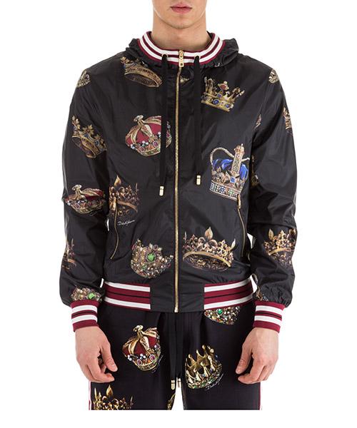 Bomber jacket Dolce&Gabbana G9LG8THSMVNHNV93 nero