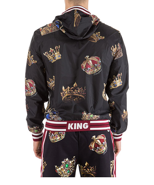 Men's nylon outerwear jacket blouson secondary image