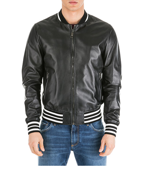 Leather jackets Dolce&Gabbana G9NK4LHULCPN0000 nero