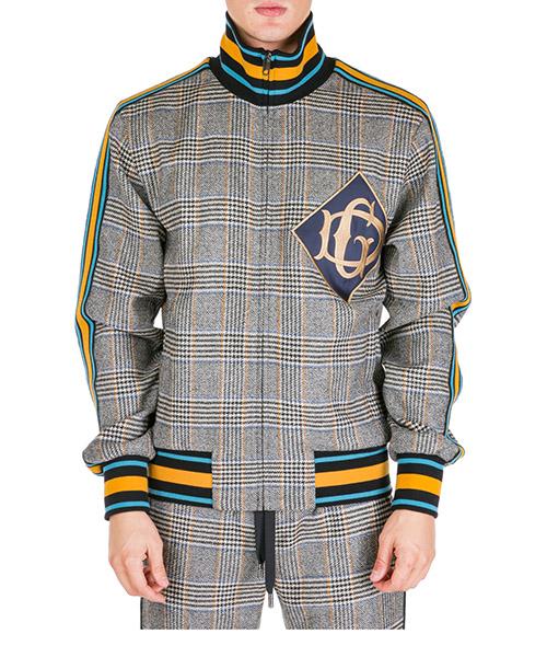 Zip-up sweatshirt Dolce&Gabbana g9ok9zg7tugs8100 beige
