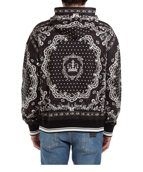 Men's hoodie sweatshirt sweat bandana secondary image