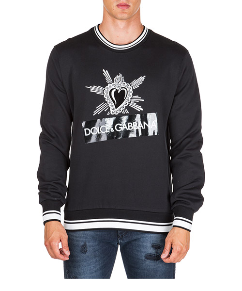 Sweatshirt Dolce&Gabbana g9ow6tg7slzn0000 nero