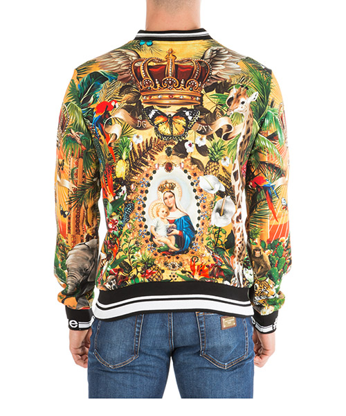 Herren sweatshirt  tropical king secondary image