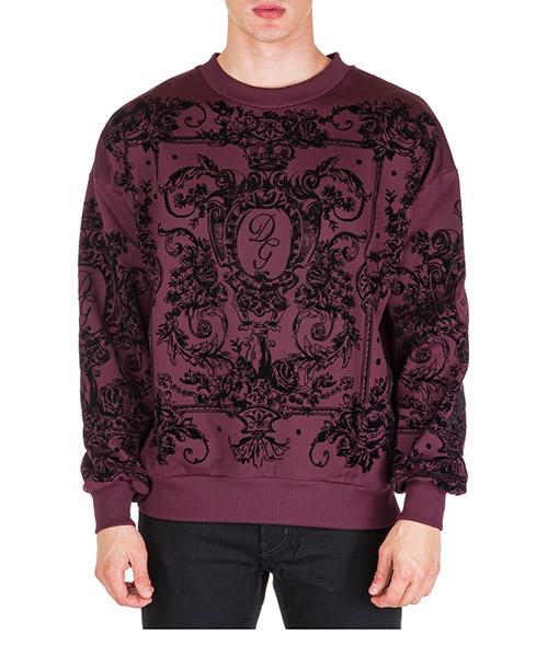 Sweatshirt Dolce&Gabbana G9PF8THU7ALF0130 viola