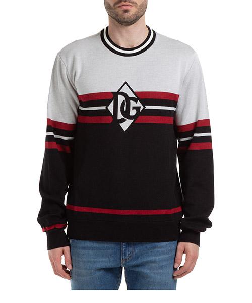 Sweatshirt Dolce&Gabbana G9RJ3TFJ7CES9000 nero