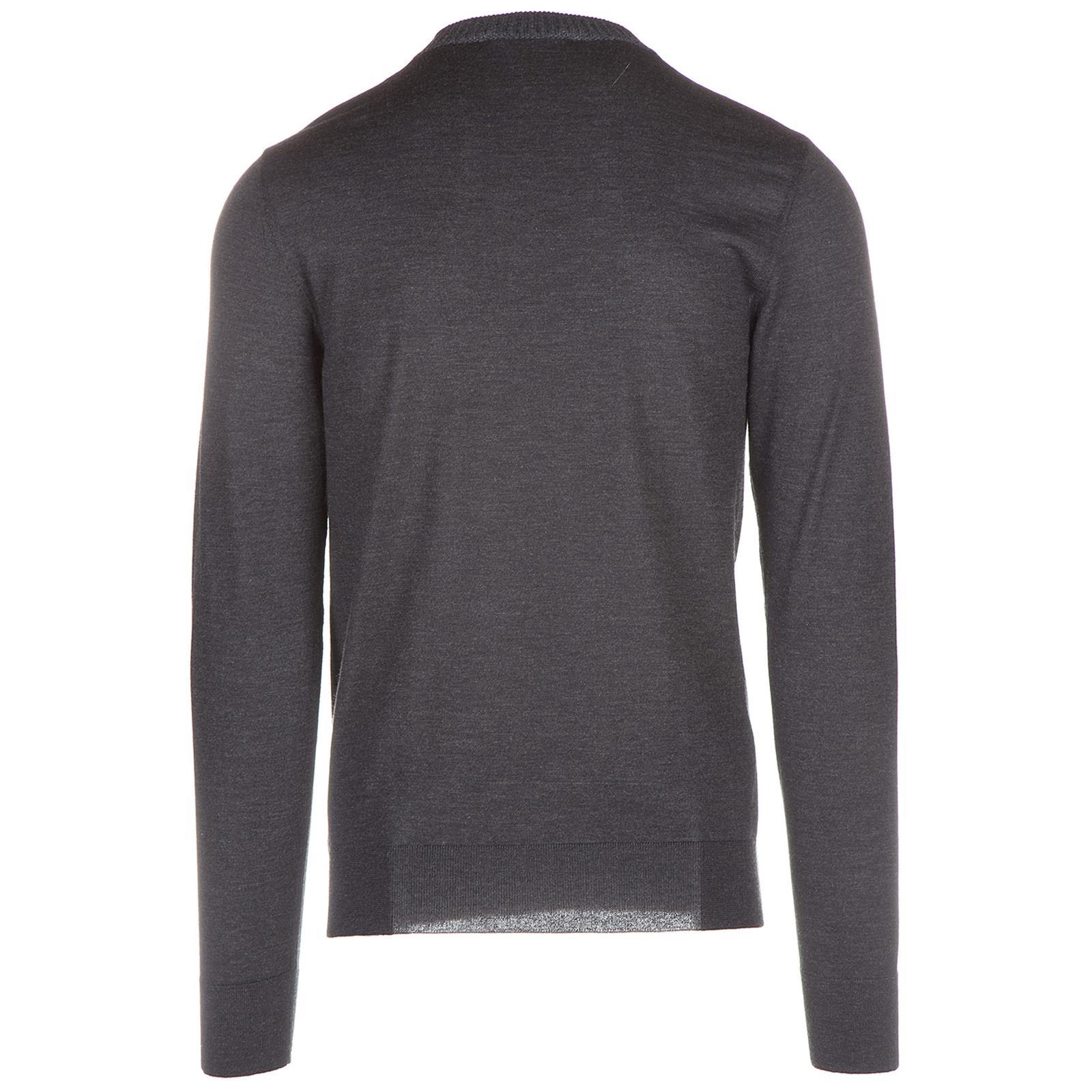свитер с вырезом мысом мужской