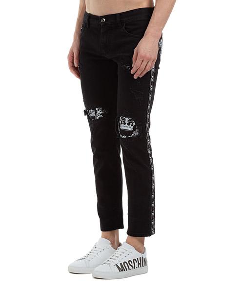Vaqueros jeans denim de hombre pantalones bandana secondary image