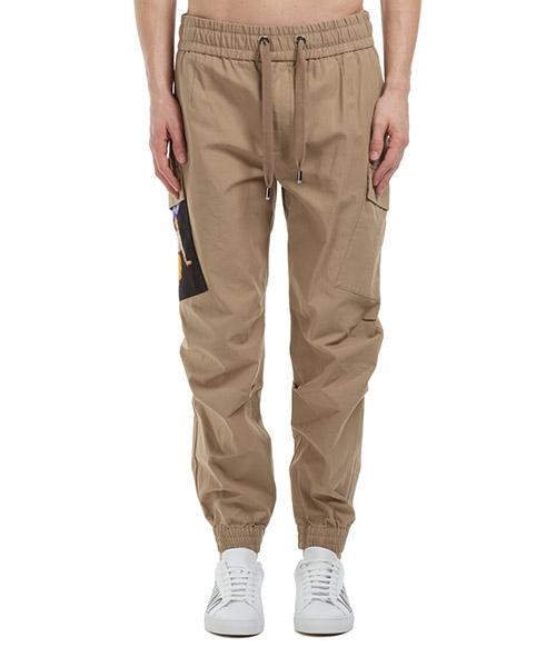 Trousers Dolce&Gabbana GWE3HTFU6WFM3830 beige