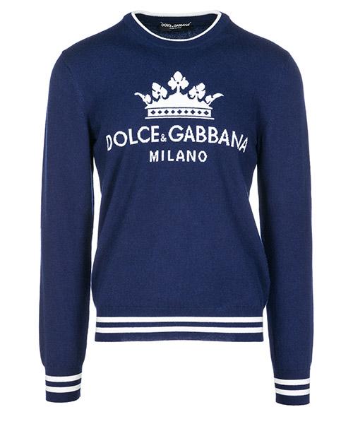Maglione Dolce&Gabbana GX193TJAWEDS9002 blu