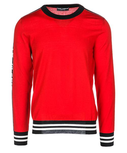 Maglione Dolce&Gabbana GX308TJAVFTS9000 rosso
