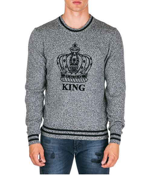 Pullover Dolce&Gabbana gx550tjawoes9000 grigio