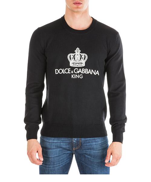 Джемпер Dolce&Gabbana GX550ZJAVPCN0000 nero
