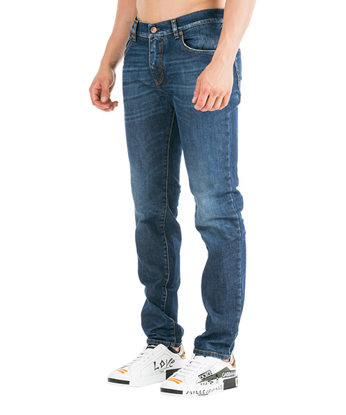 Herren jeans denim slim secondary image