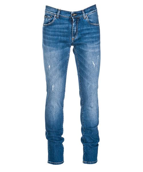 Jeans Dolce&Gabbana GY07LZG8Z94S9001 blu