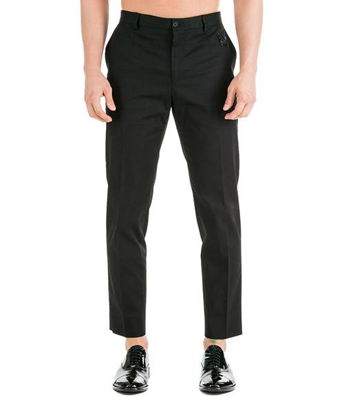Trousers Dolce&Gabbana GY6FEZGEF34N0000 nero