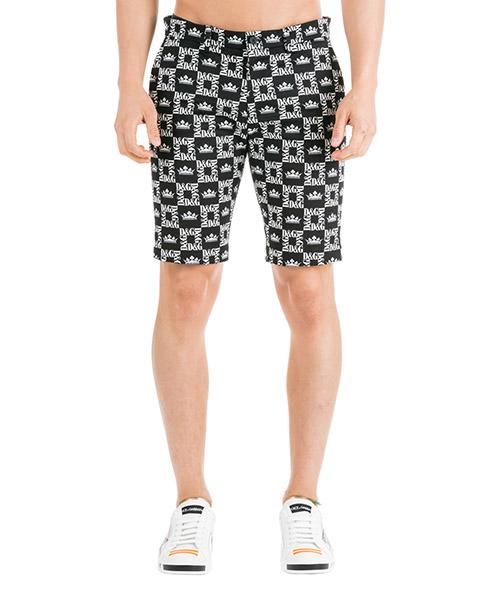 Pantalones cortos Dolce&Gabbana GY6GMTFSFIGHNY47 black - white