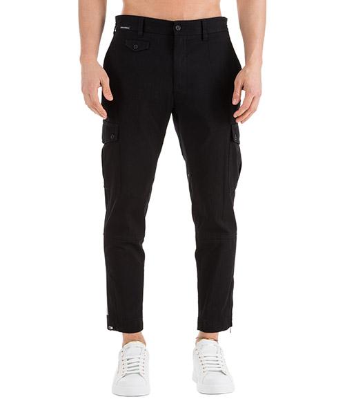 Sport trousers  Dolce&Gabbana GYA8ETFUFGDN0000 nero