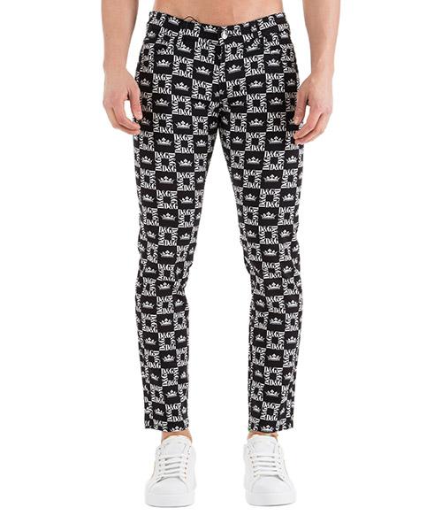 Pantalone Dolce&Gabbana Logo GYC4LTFSFIGHNY47 nero