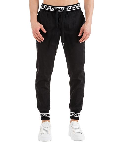 Sport trousers  Dolce&Gabbana -- GYIKETGEF37N0000 nero