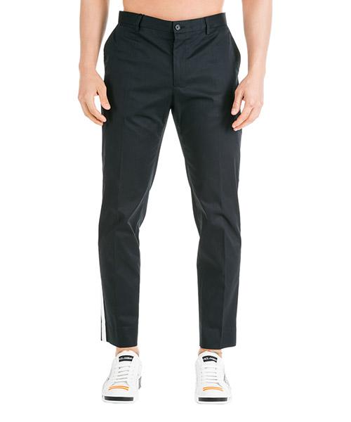 Trousers Dolce&Gabbana GYNVETFUFISB0665 nero