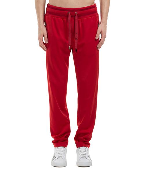 Tracksuit bottoms Dolce&Gabbana GYRLATHU7B7R0046 rosso
