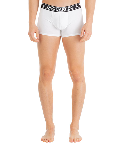 Boxer intimo Dsquared2 d9xc62410100 bianco