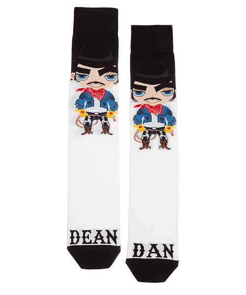 Knee high socks Dsquared2 DFV141260110 bianco