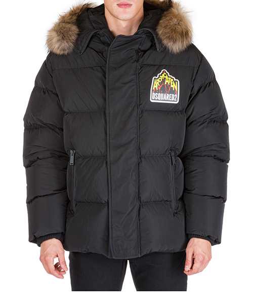 Down jacket Dsquared2 s71an0099s52344900 nero