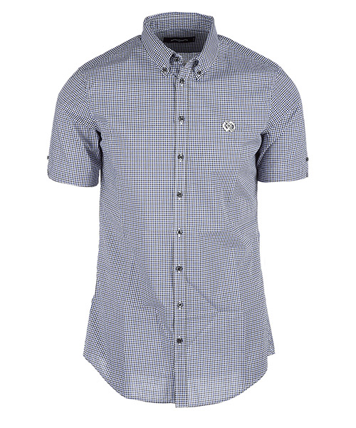 Short sleeve shirts Dsquared2 s71dm0063s37365001f blu