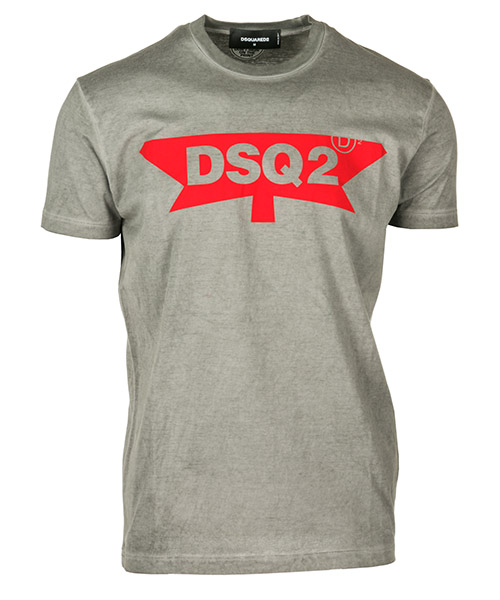 T-shirt Dsquared2 S71GD0698S22427852 grigio