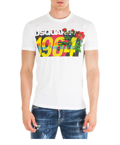 T-shirt Dsquared2 s71gd0739s22427100 bianco