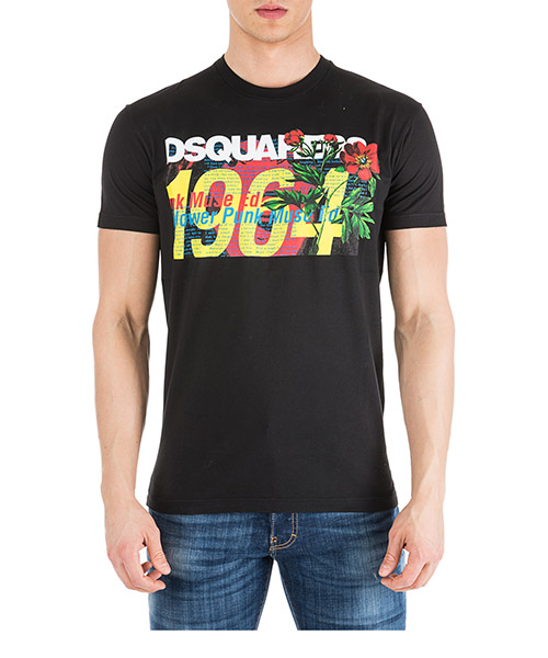 Camiseta Dsquared2 S71GD0739S22427900 nero
