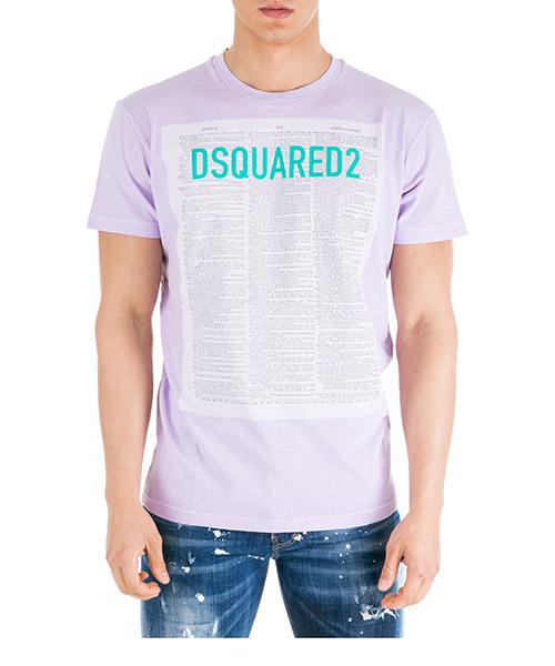 T-shirt Dsquared2 S71GD0748S22507376 viola