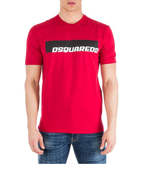 Camiseta Dsquared2 S71GD0762S22427254 rosso