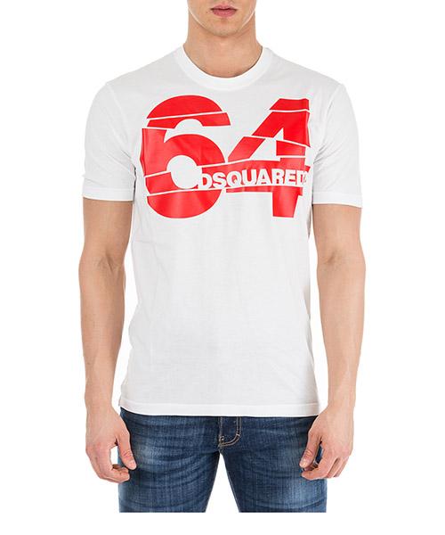T-shirt Dsquared2 64 S71GD0764S22427100 bianco