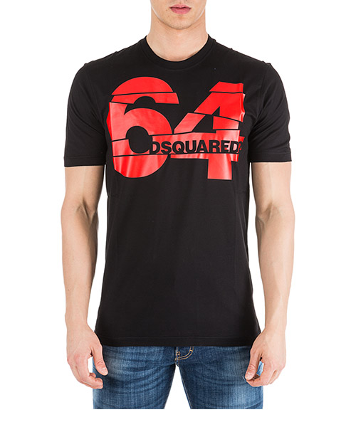 Camiseta Dsquared2 64 S71GD0764S22427900 nero