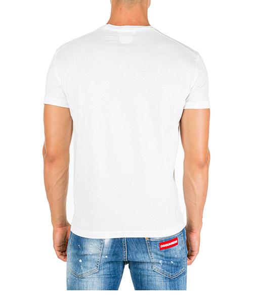 Herren t-shirt kurzarm kurzarmshirt runder kragen winged skull secondary image