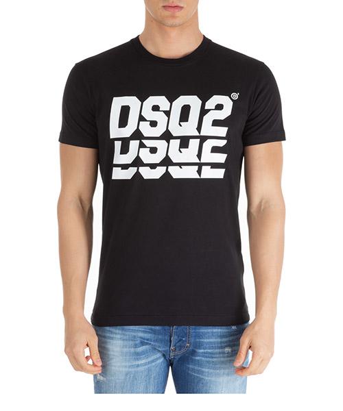 Camiseta Dsquared2 triple dsq2 s71gd0809s20694900 nero