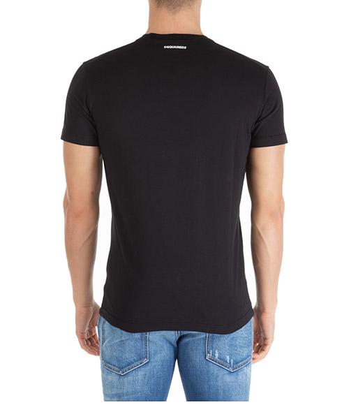 Camiseta de manga corta cuello redondo hombre triple dsq2 secondary image
