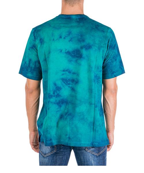 Herren t-shirt kurzarm kurzarmshirt runder kragen tie-dye secondary image