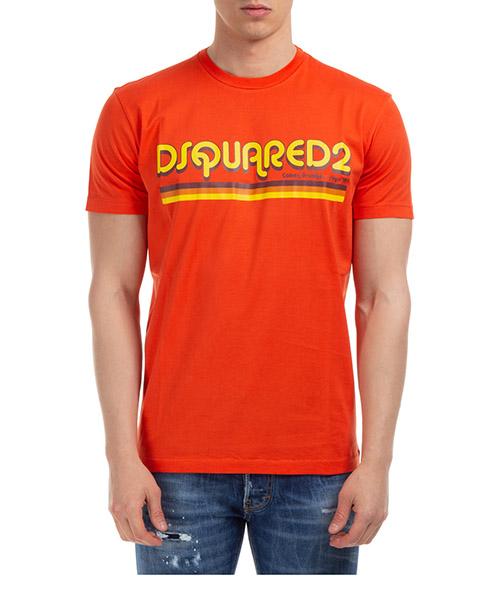 T-shirt Dsquared2 S71GD0887S22427187 arancio